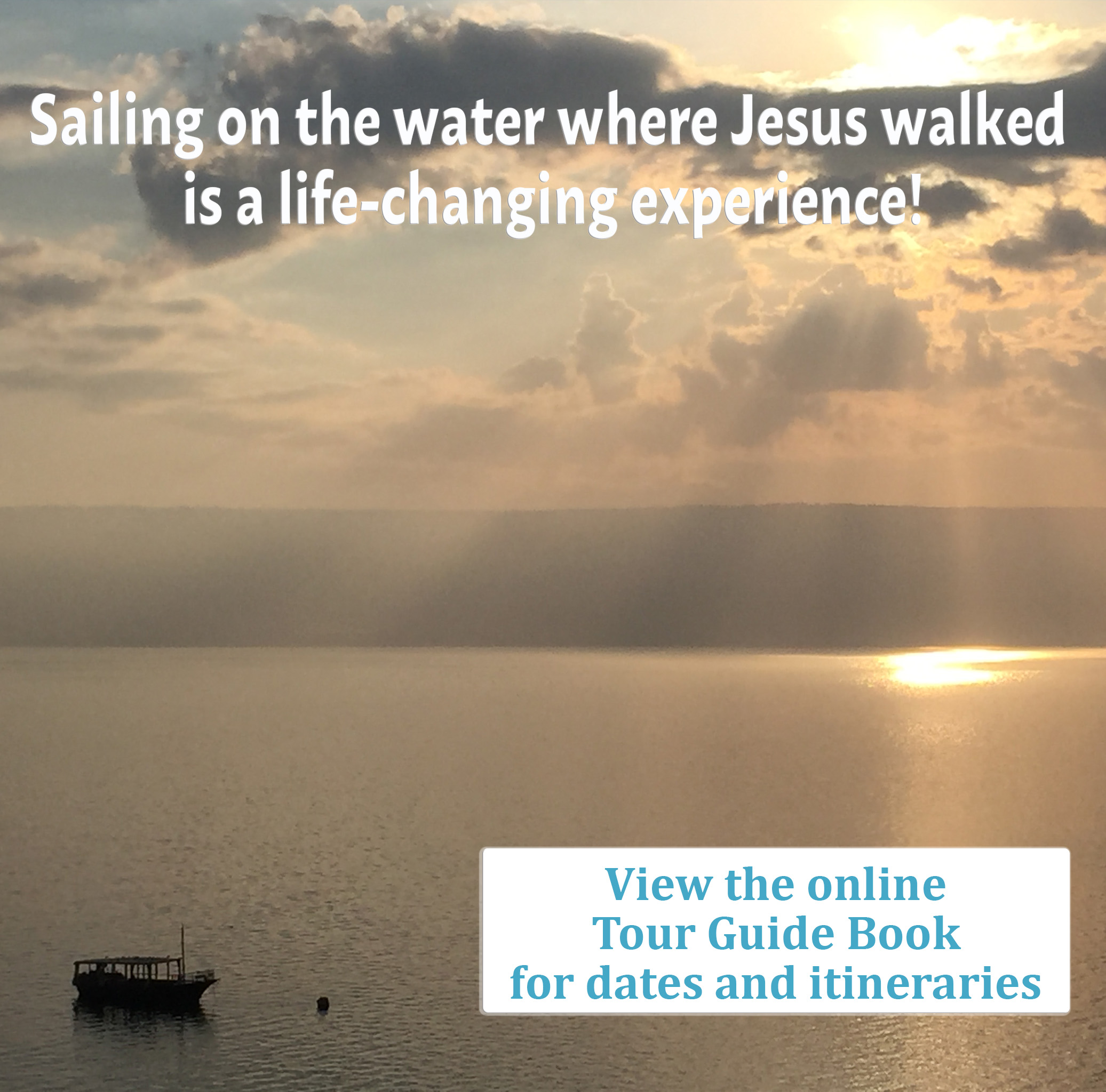 Sailing where Jesus walked