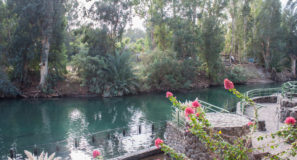 Jordan River Baptism Christian Tour Israel Holy Land