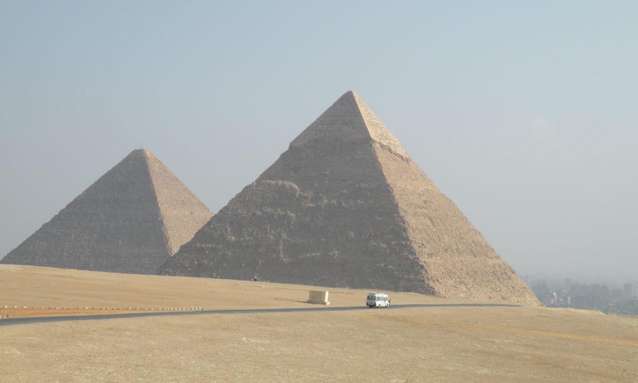 Giza Egypt Pyramids